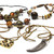 (192) Great Wholesale Women Assorted Rhinestone Glass Metal Necklaces