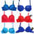 (72) Women Wholesale Underwire Boost Push Up Bras Lingerie Underwear