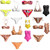 (72) Fabulous Mixed Sexy New Wholesale Women Bikinis Swimwears Swimsuits