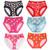 (132) Wholesale Ladies Lingerie Underwear Hipster Brief Boyshort Panties