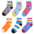 (300) Wholesale Assorted Mixed Styles Children Ankle Socks Low Cut