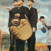 Game Called Because Of Rain by Norman Rockwell Print