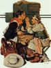 Gary Gooper As The Texan by Norman Rockwell Print