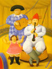 Musicians 2 by Botero Print