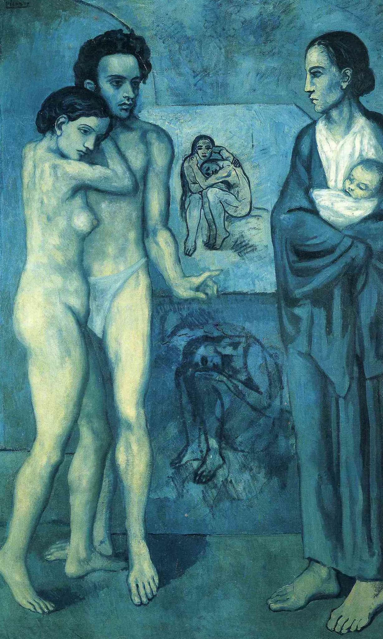 La Vie 1903 by Pablo Picasso Print from Wanford Art Reproductions.