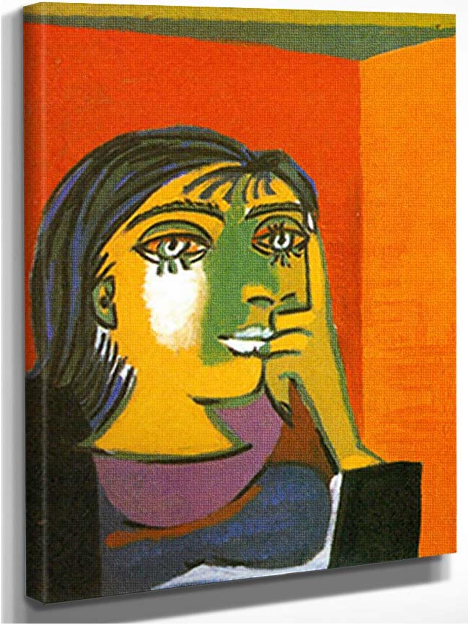 Portrait Of Dora Maar 1 By Pablo Picasso Art Reproduction ...