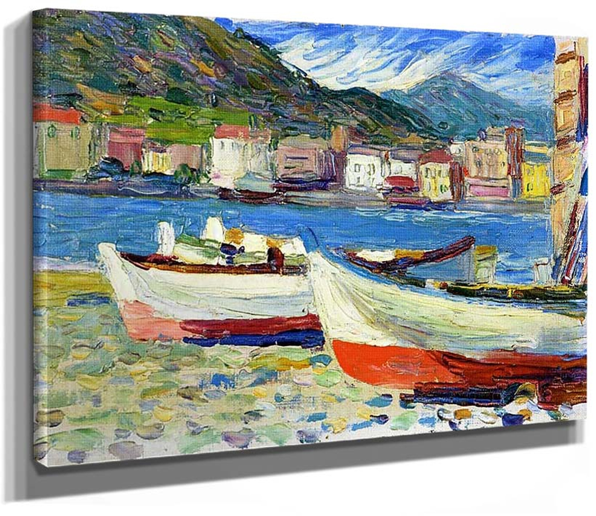 Harbor   by Wassily Kandinsky   Giclee Canvas Print Repro