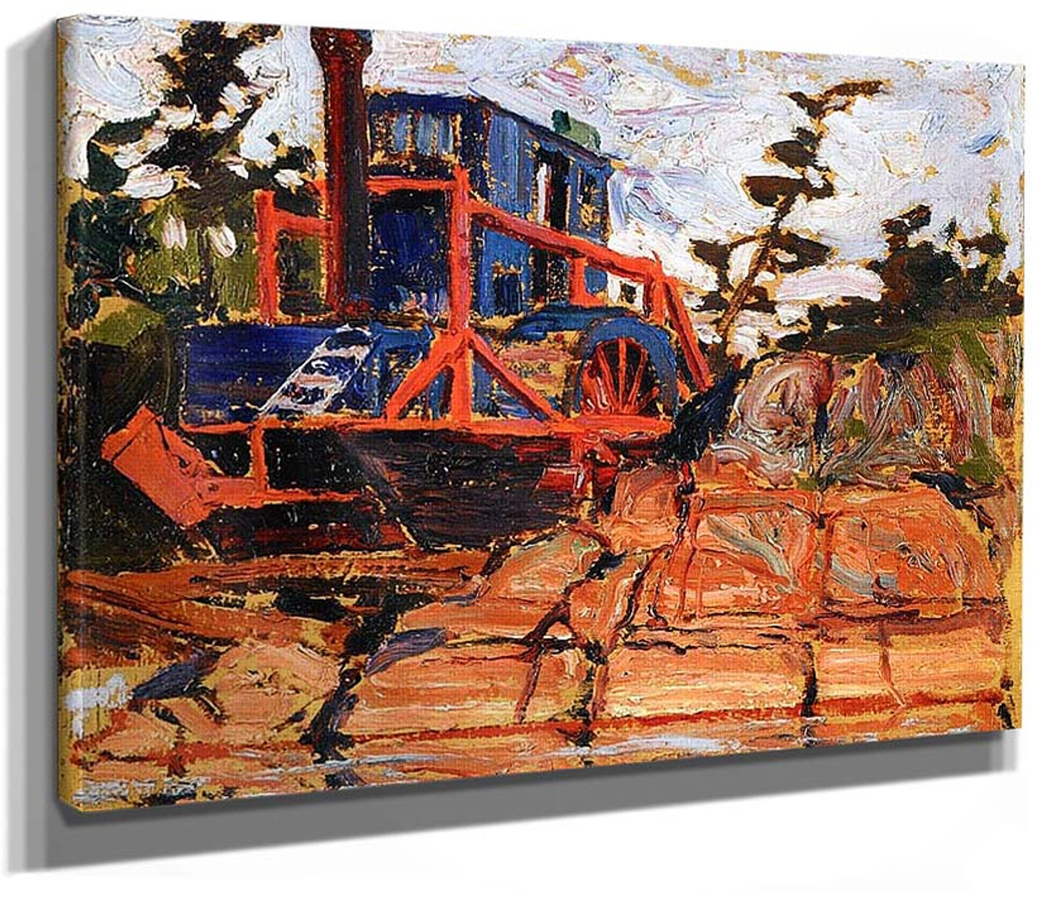 The Alligator Algonquin Park By Tom Thomson Art Reproduction From Wanford