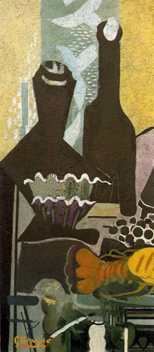 Still Life With Lobster 1948 By Georges Braque