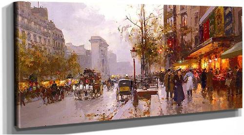 Boulevard Bonne Nouvelle Paris By Edouard Cortes