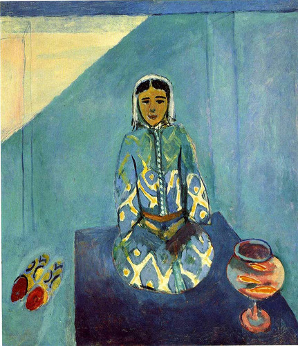 Zorah On The Terrace 1912 By Henri Matisse Art Reproduction from Wanford.