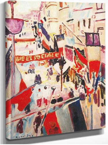 4Th Of July 1906 By Dufy Raoul