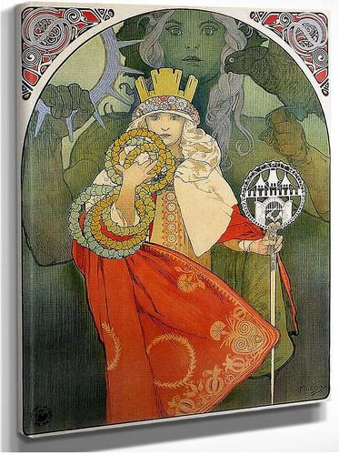 6Th Sokol Festival 1912 By Alphonse Mucha