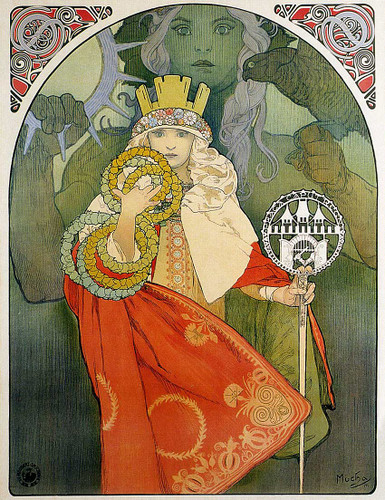 6Th Sokol Festival 1912 By Alphonse Mucha Art Reproduction from Wanford