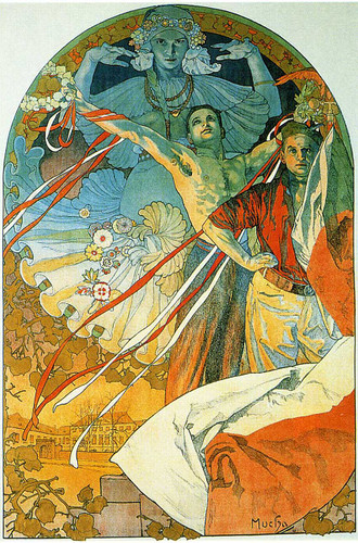 8Th Sokol Festival 1912 By Alphonse Mucha Art Reproduction from Wanford