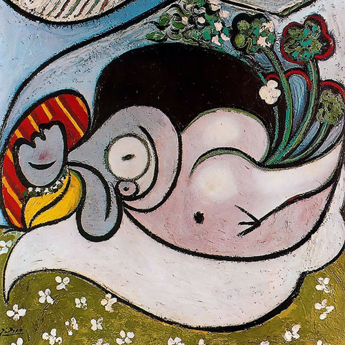 Reclining Woman1 by Picasso Print