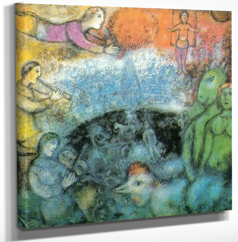 The Grand Parade by Marc Chagall