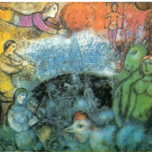 The Grand Parade by Marc Chagall Print