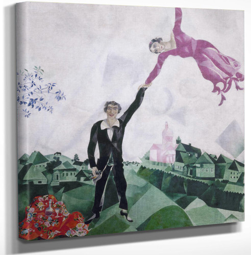 The Promenade By Marc Chagall by Marc Chagall
