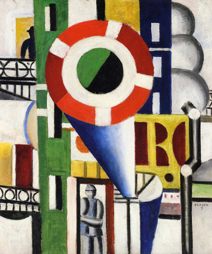 A Disc In The City 1919 By Fernand Leger Art Reproduction from Wanford