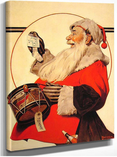 A Drum For Tommy 1921 By Norman Rockwell