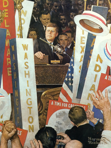 A Time For Greatness by Norman Rockwell Print