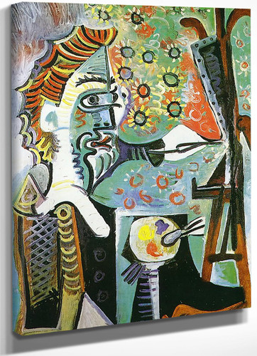 An Artist 100x73 by Picasso