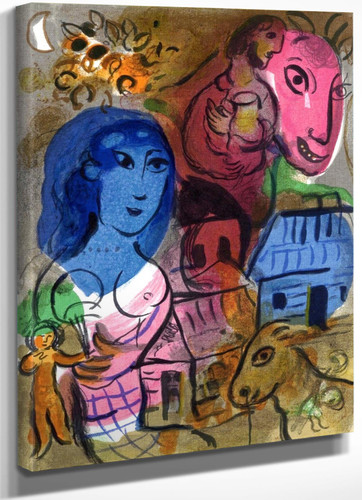 Antilopa Passengers by Marc Chagall