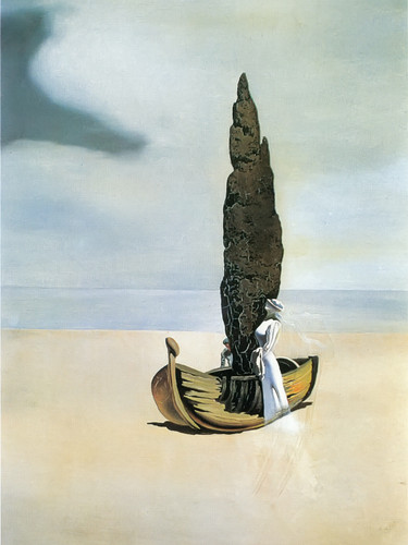 Apparition Of My Cousin Carolineta On The Beach At Roses by Dali Print