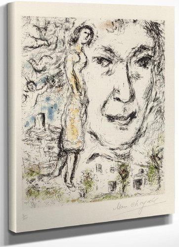 Autoportrait 1968 by Marc Chagall