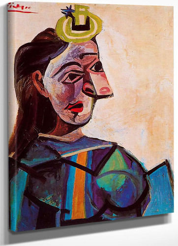 Bust Of A Woman 73x60 by Picasso