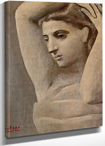 Bust Of A Woman Arms Raised by Picasso