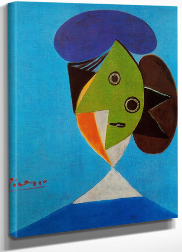 Bust Of A Woman by Picasso