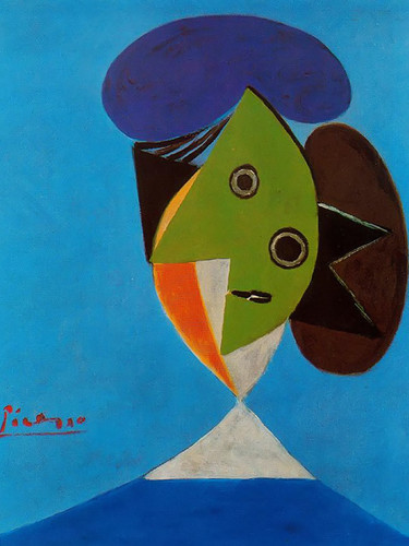 Bust Of A Woman by Picasso Print