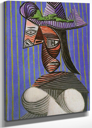 Bust Of Woman 81x54 by Picasso