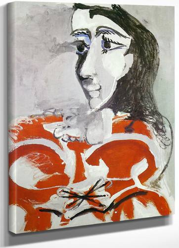 Bust Of Woman 99x80 by Picasso