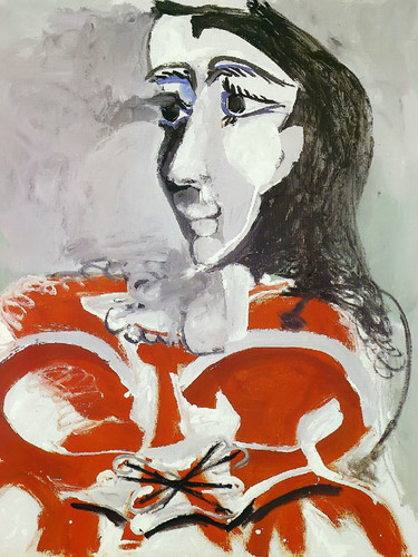 Bust Of Woman 99x80 by Picasso Print
