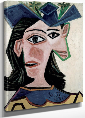 Bust Of Woman With Hat. Dora by Picasso