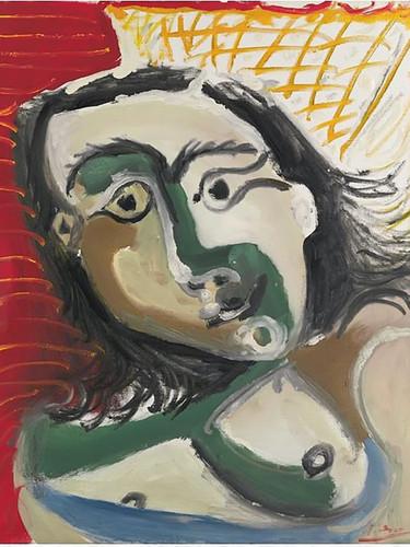 Buste De Femme by Picasso Print
