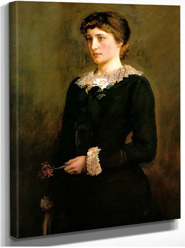 A Jersey Lily Portrait Of Lillie Langtry By John Everett Millais
