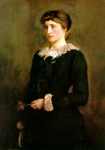 A Jersey Lily Portrait Of Lillie Langtry By John Everett Millais Art Reproduction from Wanford
