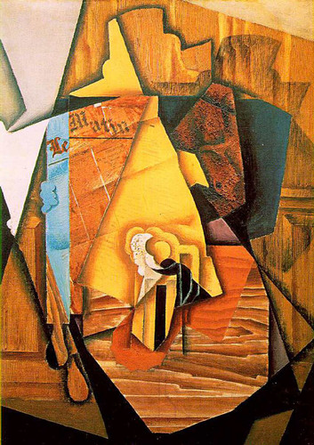 A Man In A Cafe 1914 By Juan Gris Art Reproduction from Wanford