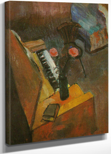 Interrior With A Harmonium by Henri Matisse