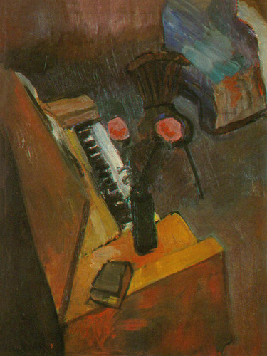 Interrior With A Harmonium by Henri Matisse Print