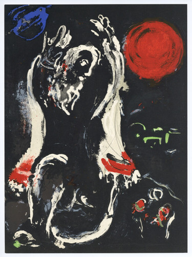 Isaiah By Marc Chagall by Marc Chagall Print