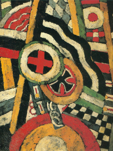 Painting Number 5 1914 by Marsden Hartley Print