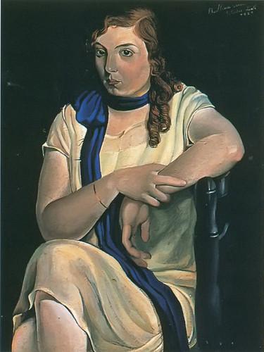 Portrait Of Maria Carbona by Dali Print
