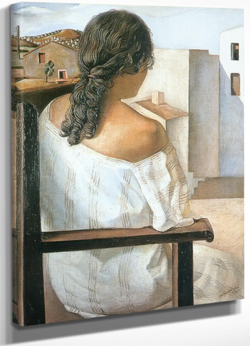 Seated Girl From The Back by Dali
