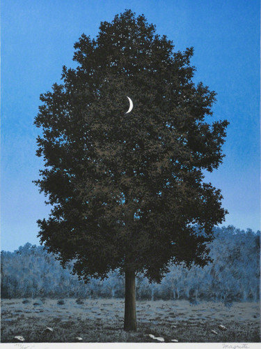 Sixteenth Of September 1956 by Rene Magritte Print