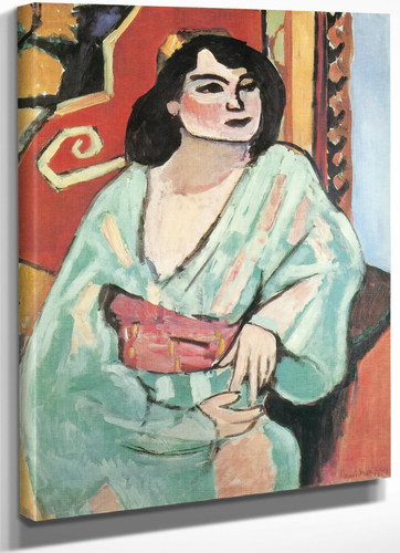 The Algerian Woman by Henri Matisse
